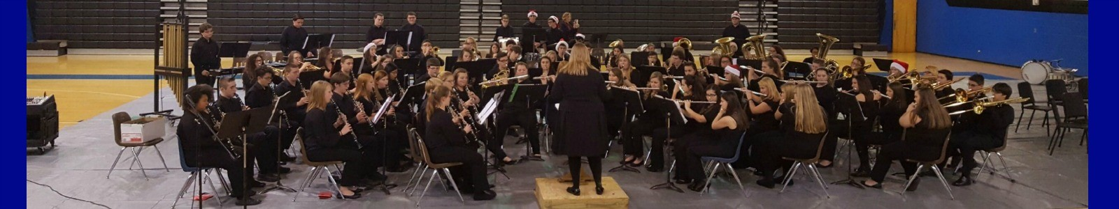 Tara Alcorn and the SCHS Band Christmas Concert