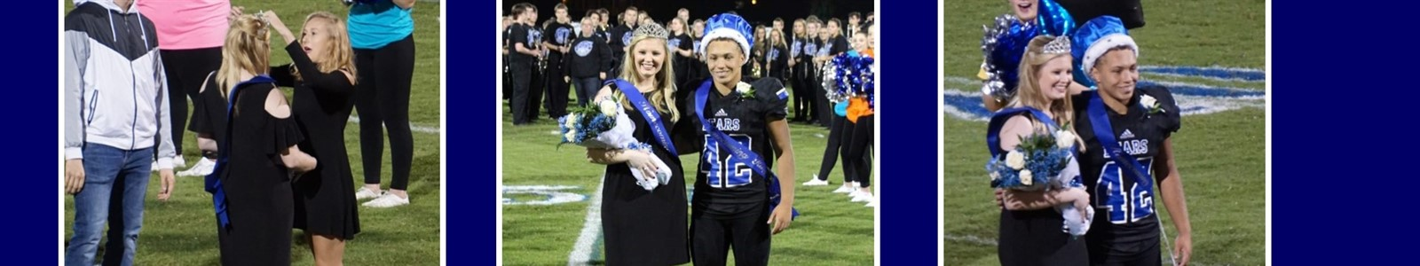 Homecoming King & Queen: Kelsey Cotton and Branden Jewell