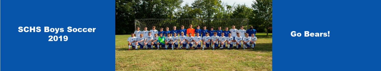 SCHS Boys Soccer Team 2019