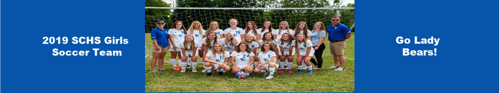 SCHS Girls Soccer Team 2019