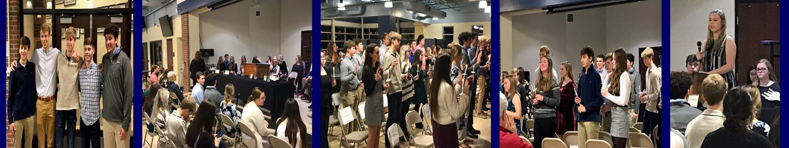 SCHS National Honor Society Induction