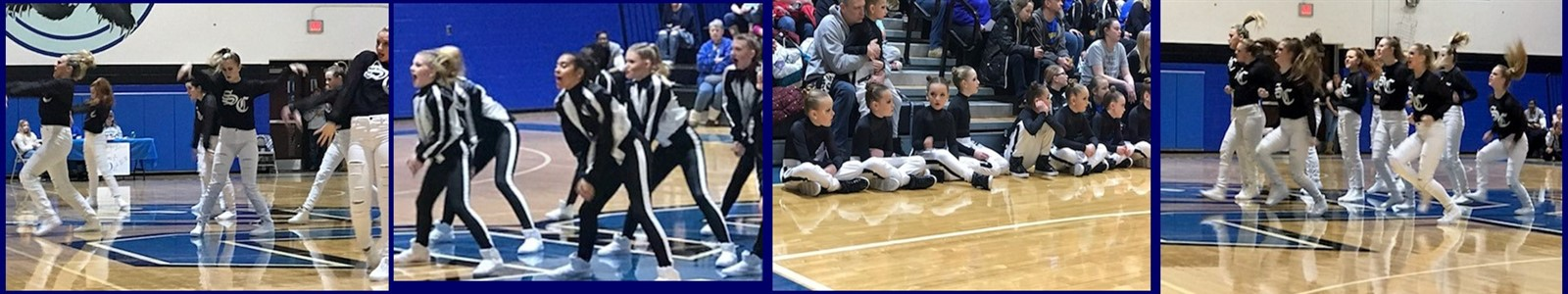 Spencer Co. at Dance Team Regionals  #SpencerCountyPride
