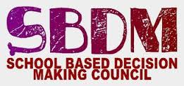SBDM School Based Decision Making Council
