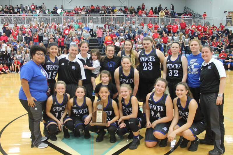 2017 Girls Basketball District Runner Up!